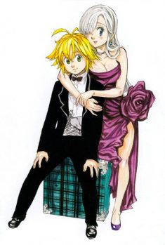 Seven Deadly Sins// Elizabeth and Meliodas// Couple Goals <3