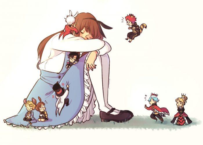 Mystic Messenger Alice in Wonderland AU
