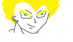 first time doing vegeta on the computer