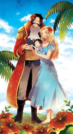 The family of king of pirates