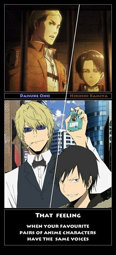 Attack On Titan Durarara