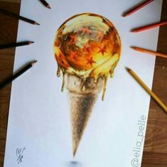 ice cream dragon ball version