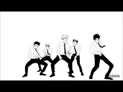 하이큐 주장즈(haikyuu captains) – 쩔어(DOPE) – YouTube
