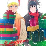 merry christmas naruto and saskue