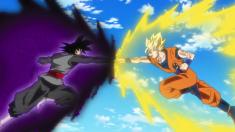 Black Goku VS Gohan