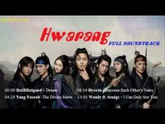 Hwarang OST Full Soundtracks l 화랑 OST Album l Best Korean Drama OST 2017 – YouTube