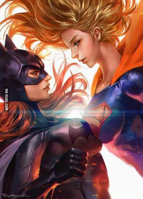 super woman bat woman