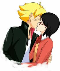 .. boruto is el amor y tu que eres  >>> yo soy el heart de mi novia … y el colores