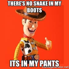 When your watching toy story