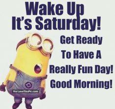 It Saturday day