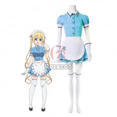 Blend S Kaho Hinata Blue Anime Cosplay Costumes Maid Dress Outfit