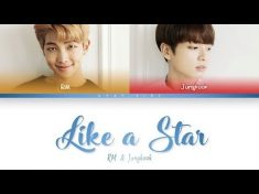 BTS RM x Jungkook – Like a Star [Color coded Han|Rom|Eng lyrics] – YouTube