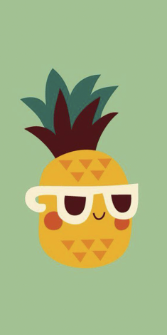 Who lives under a pineapple under the sea