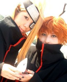 Beautifol coslpay of Deidara and Sasori