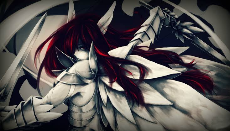 Be brave and fear nothing…. -Erza Scarlet