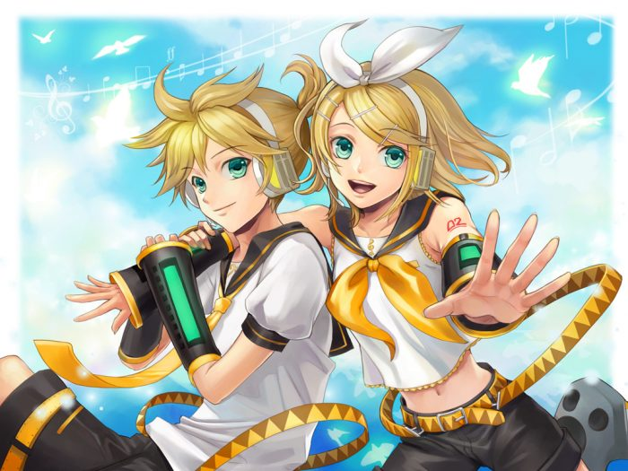 how cute is len and rin