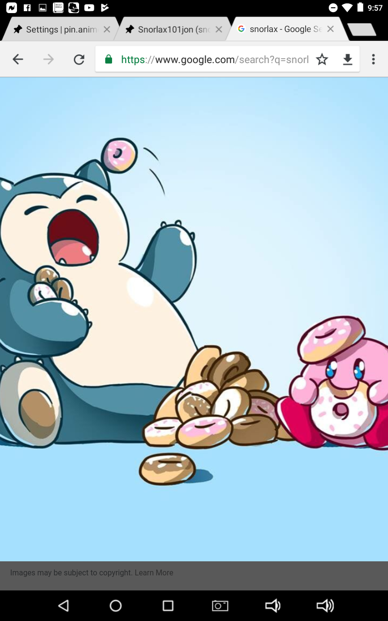 Snorlax and kerby bff