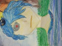 First anime drawing 1st of many#anime4life