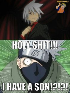 how could you forget kakashi