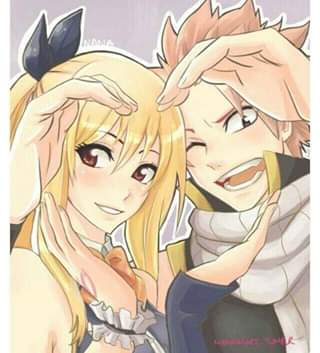 Fairy tail…..natsu and lucy…..