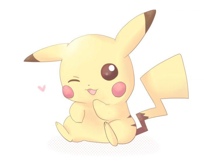 Pikachu is soo cute. He is mine.