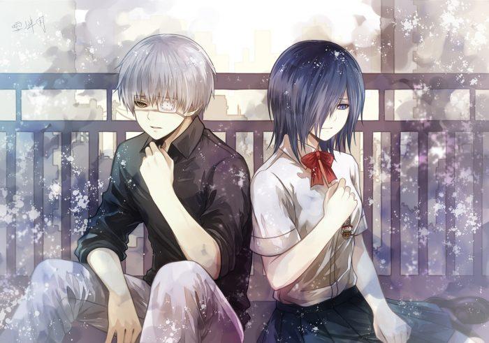 El anime es tokyo ghoul Esta compuesto por 4 temporadas compuestas cada una por 12 capitulos Su  ...