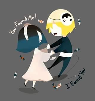 ……you found me I found you……..