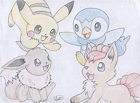 Pokémon art by my brother UwU