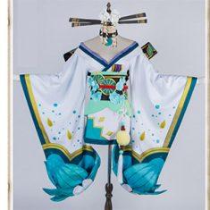 https://www.sukicos.com/kamigame-costume-fun.html 陰陽師ゲーム内で青行灯着ているスキン花舞蝶々衣 ...