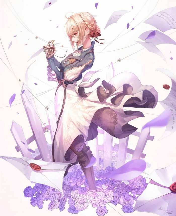 Violet evergarden  One on the best anime that you may like