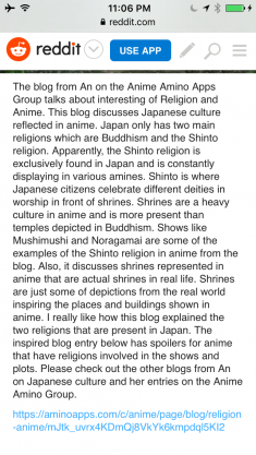 How Religion Is Depicted in Anime? An's Blog of Religion and Anime in Anime Amino Group