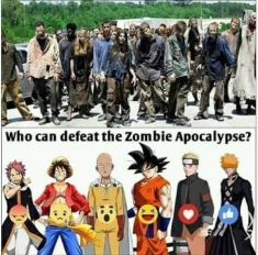 Anime vs. Zombie Attack