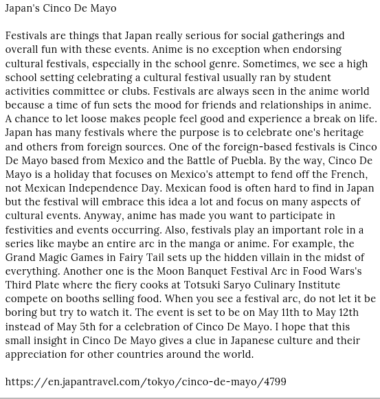 Japan's Cinco De Mayo Todd Wojnowski and Celebrate the cultures of Mexico and the Americas