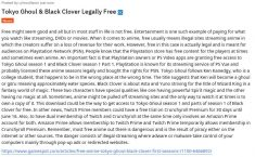 Tokyo Ghoul & Black Clover Legally Free Jenae Sitzes and Free Anime: Tokyo Ghoul, Black Clov ...