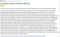 Is Inuyasha a better anime than DBZ? Quora Question from Inuyasha (TV series, Manga, and Creativ ...
