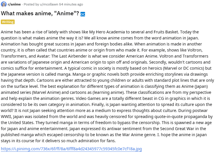 "What makes anime, ""Anime""?  Anime's Origin and Common Misconceptions Explained"