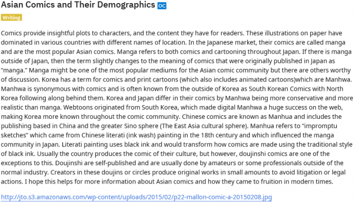 Asian Comics and Their Demographics   Asian Comics Becoming Mainstream